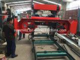 Scierie portative en bois de machine de découpage de scierie horizontale