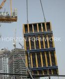 Coffrage de faisceau de bois de construction pour le mur et les colonnes de noyau
