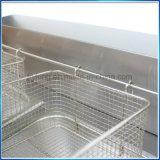 台所のための二重タンクステンレス鋼のガスのフライヤー