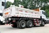 Carro de vaciado pesado diesel del HP 6X4 de Nissan Ud 380/carro de descargador