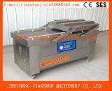 Macchina imballatrice di doppio dell'alloggiamento vuoto automatico completo dell'alimento per carne, prodotti acquatici che elaborano Dz-500