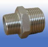 Coussinet d'hexagone d'acier inoxydable d'ajustage de précision de pipe de moulage