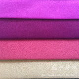 Bronzage du composé de Chaud-Estampage de suède de tissu pour le sofa
