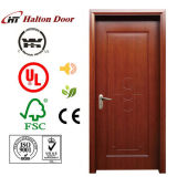 Puerta de madera enrasada del interior para la puerta de madera del rubor de la sala de estar/de la puerta enrasada