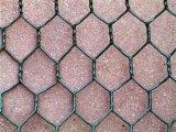 PVC-überzogener sechseckiger Maschendraht