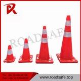 cône plié par PVC orange ou rouge de 70cm de sûreté de circulation