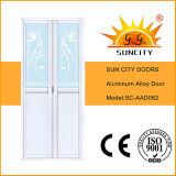 Конструкция дверей города Sun белая алюминиевая (SC-AAD057)