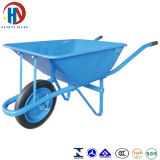 Wheelbarrow azul da bandeja