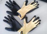 10g Мета-Aramid Fibre Latex Crinkle Heat&Cut Resistance Safety Work Glove (K1101)