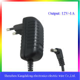 CC Power Adapter di CA intercambiabile di 12W Wall Mount Type