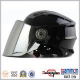 차가운 빛나는 노란 절반 마스크 스쿠터 헬멧 (HF315)