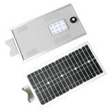 1개의 태양 LED 가로등 12W에서 중국 공장 직매 경쟁가격 전부