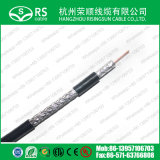le câble coaxial de liaison Ce/RoHS/Reach de 17vatc En50117/En50173 a reconnu
