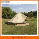 van de Katoenen van 5m de Tent van het Hotel van de Tent van de Luxe van Glamping van de Tent Klok van het Canvas