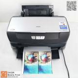 Máquina por encargo de la impresora de la etiqueta engomada 3D para los accesorios móviles