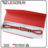 Vigilanza del legno del braccialetto del cartone del contenitore di imballaggio di memoria dei monili del regalo di carta dei monili (YS0651A)
