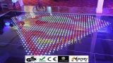 Танцевальная площадка RGB Starlit СИД панели диско P10cm акриловая видео- для венчания T-Этапа ночного клуба венчания