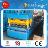 Tegel die van het Dak van het Staal van de Kleur van de uitvoer de StandaardMachines (Verglaasde HKY) maakt
