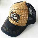 Chapéus bordados remendo do camionista do boné de beisebol do tampão do esporte do engranzamento do tampão