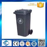 Bidon en plastique de poubelle et d'ordures