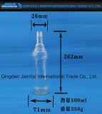 Frasco de vidro do petróleo clássico com tampão de parafuso