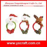 Regalo de la Navidad de la venda del auricular de Christms de la decoración de la Navidad (ZY14Y498-1-2-3)