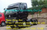 Euro élevé de cabine de toit de Sinotruk A7-G 2 camions principaux d'entraîneur avec de doubles dormeurs et 1 roue de secours pour le remorquage 50t