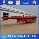 Reboque Flatbed do Gooseneck do aço do alumínio e de carbono feito em China