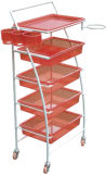 Волосы Tool с Different Color Salon Trolley (DN. A156)
