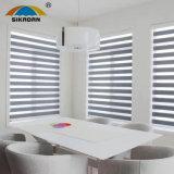 Cortinas elétricas da cortina do rolo da zebra/arco-íris do preço de fábrica de Sikadan