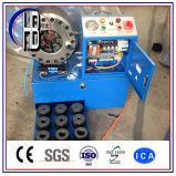 Máquina que prensa del manguito hidráulico '' ~2 '' del certificado 1/4 del Ce P32 con 10 conjuntos de dados libremente