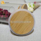 430ml löschen Borosilicat-Glas-Glas mit hölzerner Kappe