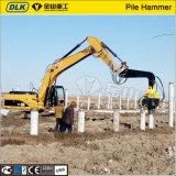 高品質の掘削機によって取付けられる油圧Vibroのハンマーの杭打ち機