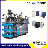 80 litros automáticos del tambor de la protuberancia de máquina plástica del moldeo por insuflación de aire comprimido