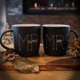 씨와 여사 커피잔은 결혼식을%s 세라믹 선물을 놓았다
