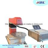 Máquina tablero portable de la marca del laser de la fibra con la fuente de laser de Raycus para la marca del metal