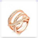 De Ring van de Legering van de Juwelen van het Kristal van de Juwelen van de manier (AL0003RG)