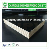 A madeira compensada enfrentada película da construção/película marinha enfrentou a madeira compensada