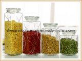 China-Glasspeicher-Glas-Glasflaschenglas-Behälter für Küche-Anwendung