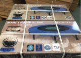 手すりが付いている小型高品質のトランポリンはEquipment1を遊ばす