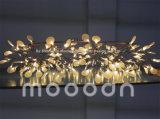 Moderner Weihnachtsbaum-KirschzweigHeracleum verlässt Glowworm LED Leuchter-Anhänger-Licht