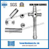 Aluminium CNC-drehenteil für hellen Rod