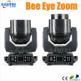 Mini-Bienen-Augen-Summen-bewegliches Hauptträger-Licht LED-7*15W