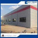 Costruzione di blocco per grafici d'acciaio dello spazio del gruppo di lavoro industriale della struttura d'acciaio