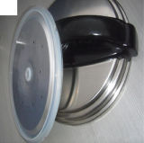 Колцеобразное уплотнение давления силикона качества еды Childproof Анти--Протекая отлитое в форму, уплотнение силикона герметической электрической кастрюли