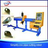 El eje 3 simplifica la máquina para corte de metales del pórtico de la cortadora del tubo del CNC