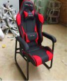 Neues Modell-Form-lederner laufender Stuhl-Spiel-Stuhl