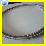 Chemisches beständiges PTFE materielles umsponnenes der Temperatur-mit Schlauch des Edelstahl-SAE 100 R14 Teflong