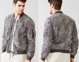 2015 neues Design Wholesale Outerwear Cotton Men Jacket mit Prints