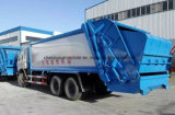 La basura de 20 Cbm cerco y transporta el carro de basura comprimido 6X4 del carro